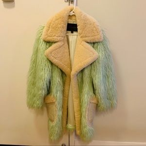 Oversized Fur Coat by Coach